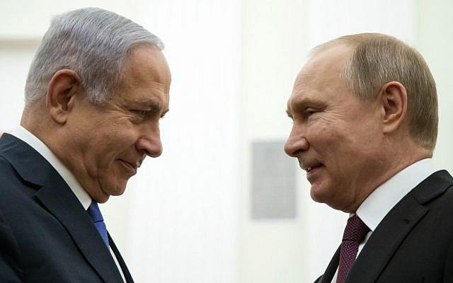 Нетаньяху: Путин сказал, что если бы я не был премьер-министром, Израиль и Россия были бы в состоянии войны
