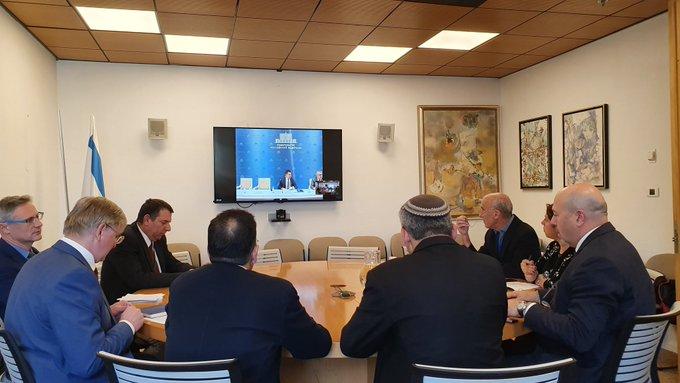 В правительстве России прошла двусторонняя встреча Россия-Израиль