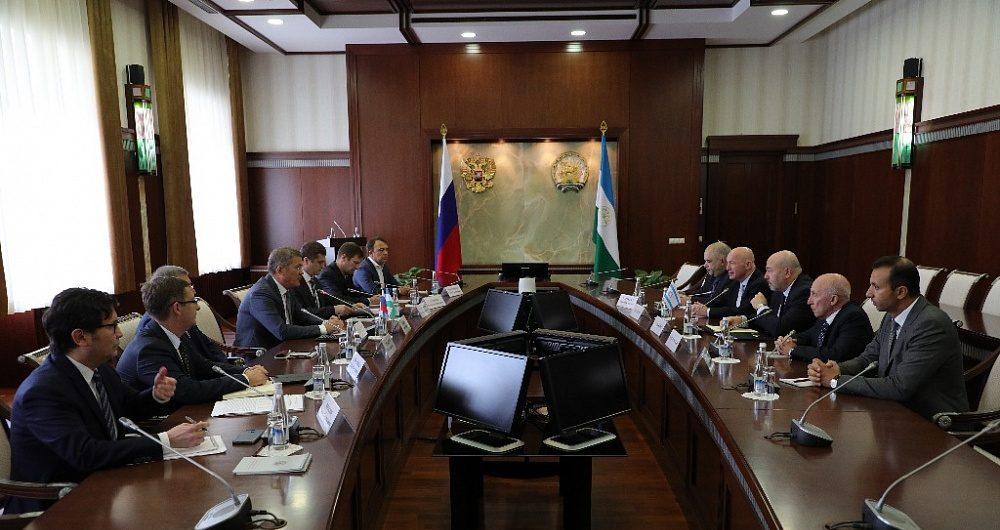 Рабочая поездка председателя РИДС Олега Бабаева в Республику Башкортостан