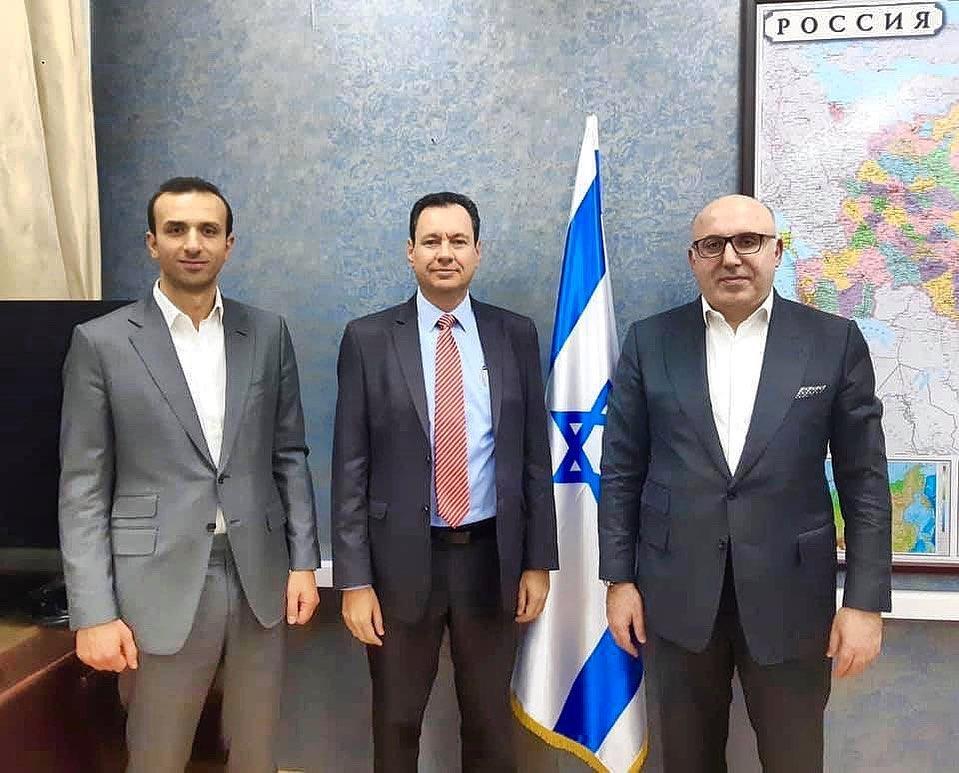 Рабочая встреча с временным поверенным в делах Израиля Яковом Ливне