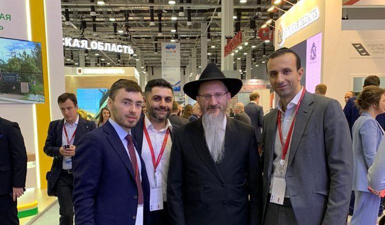 Российско-израильский деловой совет поздравляет Главного раввина России Берла Лазара с Днем Рождения!