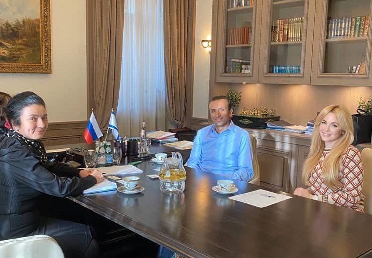 Рабочая встреча с партнерами Российско-израильского делового совета